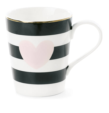Miss Etoile Large Mug Pink Heart - Neapolitan Homewares