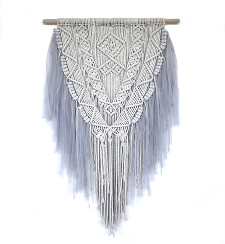 Spinkie Dreamy Macrame - Light Grey - Neapolitan Homewares