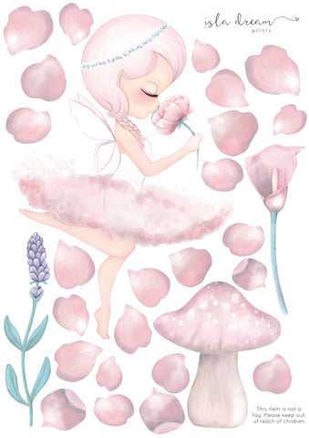 Isla Dream Prints - Wall Decals - Crysta Fairy Ballerina - Neapolitan Homewares