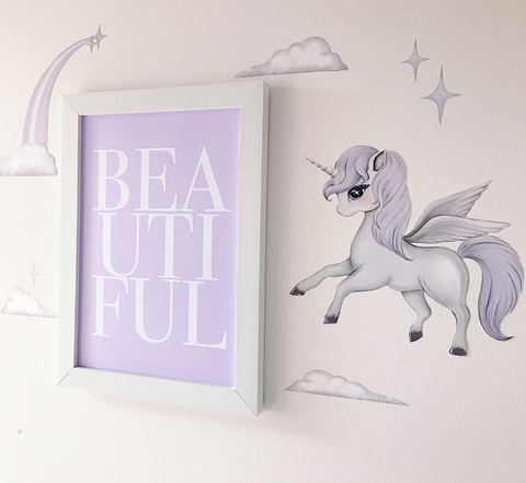 Isla Dream Prints - Wall Decals Scarlett Pegasus - Neapolitan Homewares