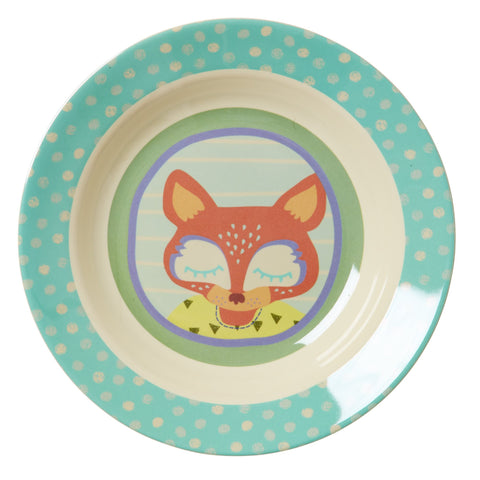 RICE Kids melamine bowl - Happy Camper - Neapolitan Homewares