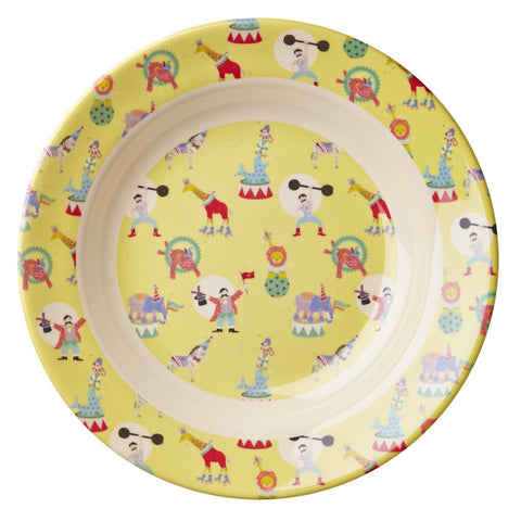 RICE Kids melamine bowl - Circus Yellow
