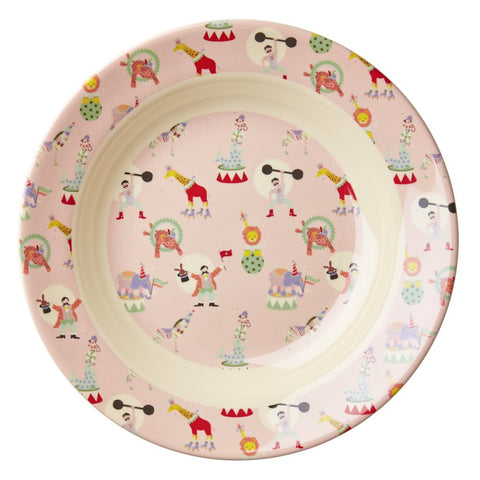 RICE Kids melamine bowl - Circus Pink - Neapolitan Homewares