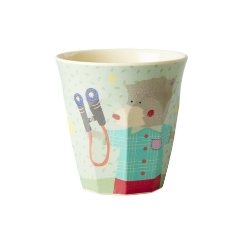 RICE Kids melamine cup - Boy Happy Camper - Neapolitan Homewares