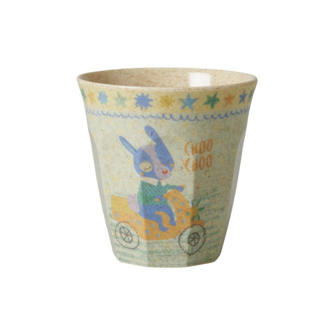 RICE Kids Bamboo Melamine Cup - Race