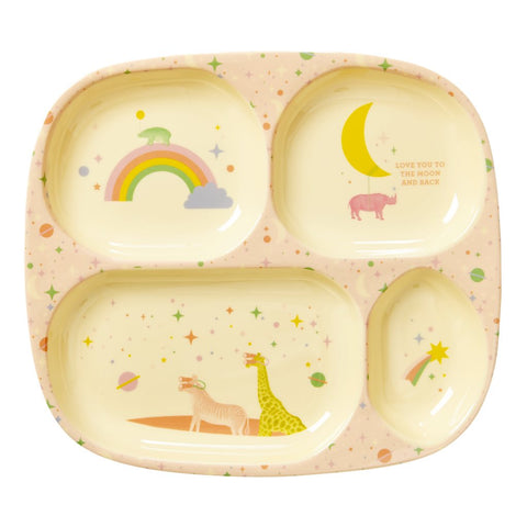RICE Kids melamine tray - Girls Universe - Neapolitan Homewares