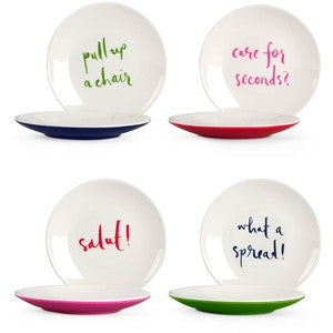 Kate Spade Tidbit Plates (Set of 4)