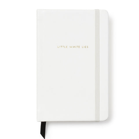 Kate Spade Medium Notebook White - Neapolitan Homewares