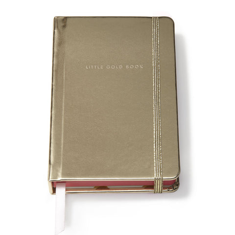 Kate Spade Medium Notebook Gold