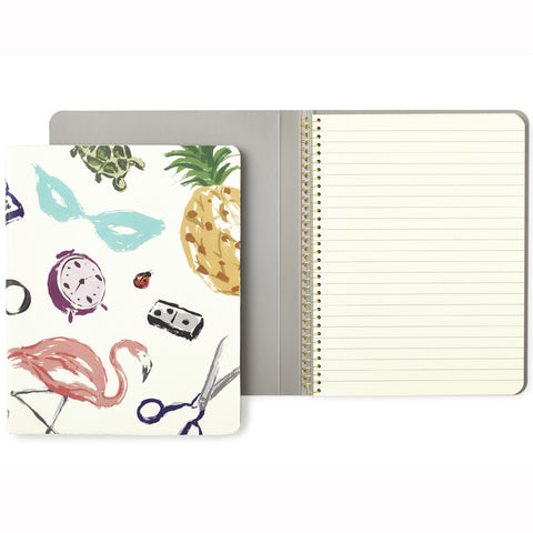 Kate Spade Spiral Notebook White Favourite Things