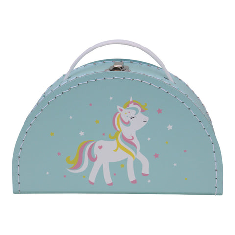 Kids Boetiek Suitcase - Unicorn - Neapolitan Homewares