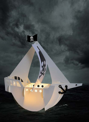 Pirate Ship Light - Neapolitan Homewares