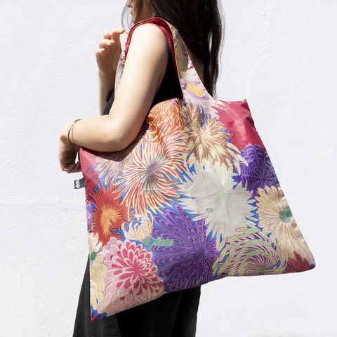 Loqi Shopping Bag - Chiyogami - Neapolitan Homewares