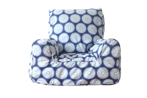 Lelbys gorgeous children's bean chairs / bean bags in various prints. Available at www.neapolitan.net.au