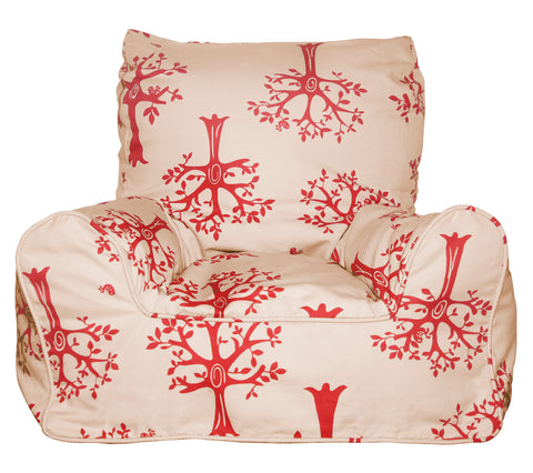 Lelbys bean chair - Red Orchard - Neapolitan Homewares