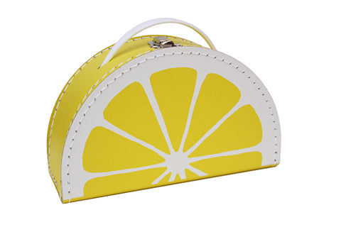 Kids Boetiek Suitcase - Lemon - Neapolitan Homewares