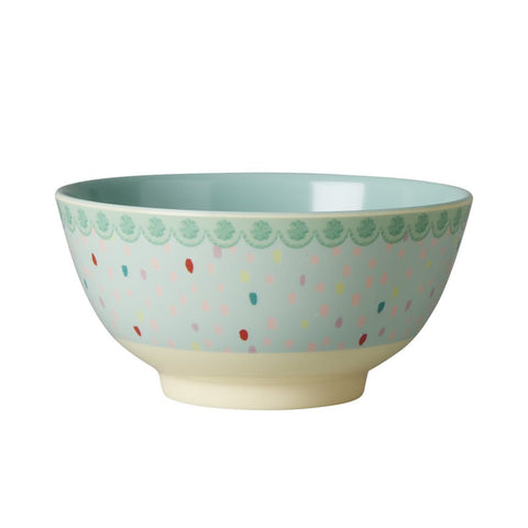 RICE melamine two tone bowl - Raindot