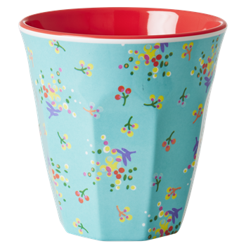 RICE melamine two tone tumbler - Mini Flower