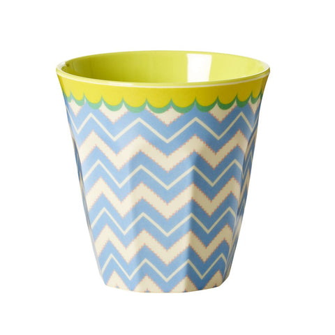 RICE melamine two tone tumbler - Chevron