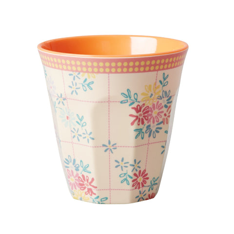 RICE tumbler Embroider Flower