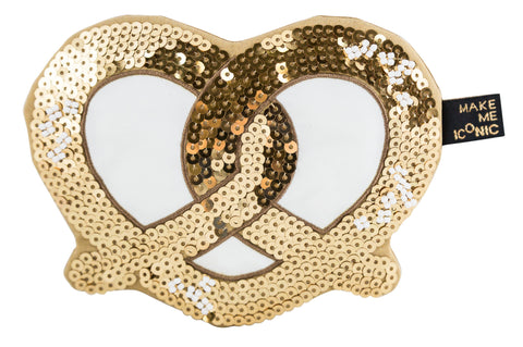 Iconic Sequin Purse - Pretzel - Neapolitan Homewares