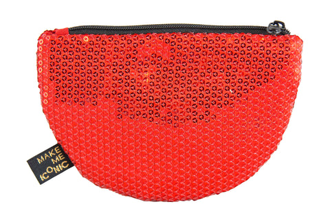 Iconic Sequin Purse - Watermelon