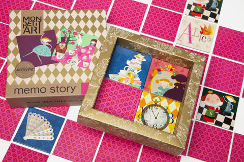 Mon Petit Art - Alice in Wonderland memo game - Neapolitan Homewares