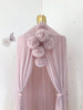 Spinkie Pom Garland - Pale Rose - Neapolitan Homewares