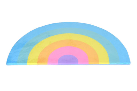 Kids Boetiek Play mat - Pastel rainbow