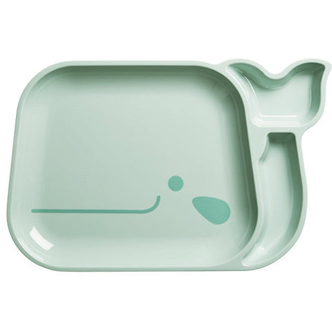 RICE Kids melamine tray - Whale - Neapolitan Homewares