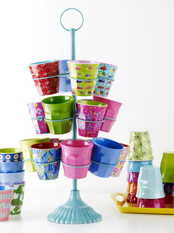 Colourful homewares and lifestyle products. RICE melamine cups, plates, bowls and cutlery.  Available at www.neapolitan.net.au