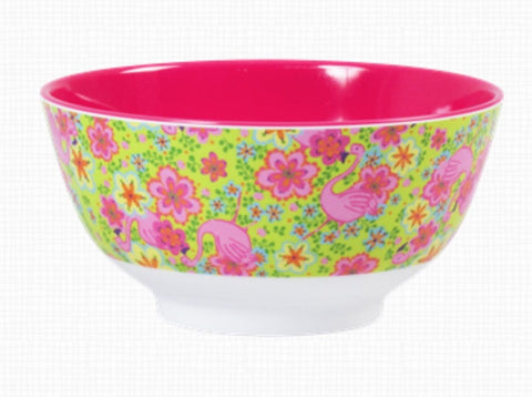 RICE melamine two tone bowl - Flamingo Pink