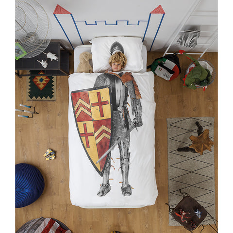 Snurk Quilt Cover Set Knight - Neapolitan Homewares