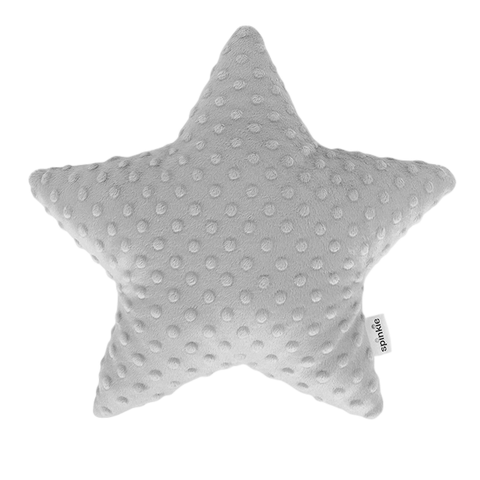 Spinkie Star Pillow - Light Grey-Spinkie-Neapolitan Homewares