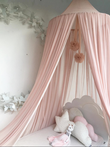 Spinkie Sheer Canopy - Nude-Spinkie-Neapolitan Homewares