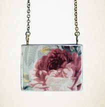 Shonah Antique floral pendant
