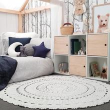 Hope and Jade Crochet rug 120cm - Everly - Neapolitan Homewares