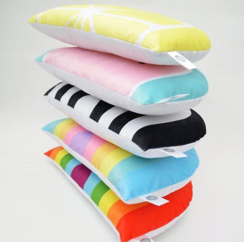 Kids Boetiek Cushion - Bright Rainbow - Neapolitan Homewares