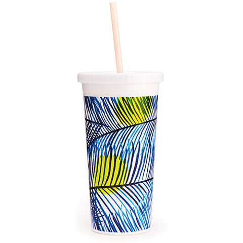 Ban.do Sip Sip Tumbler - Holiday Palm