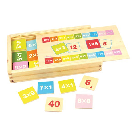 Bigjigs Toys - Times Table Box - Neapolitan Homewares