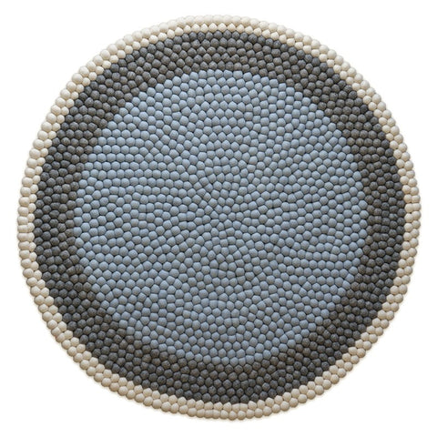 The Slumber Co Felt Ball Rug - Bjorn-The Slumber Co-Neapolitan Homewares