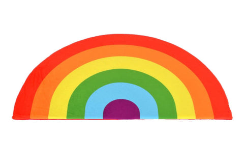 Kids Boetiek Play mat - Bright rainbow - Neapolitan Homewares