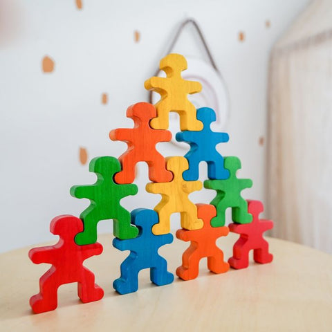 QToys Rainbow People - Neapolitan Homewares