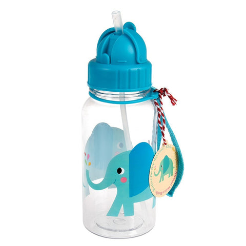 Rex London Water Bottle - Elephant - Neapolitan Homewares