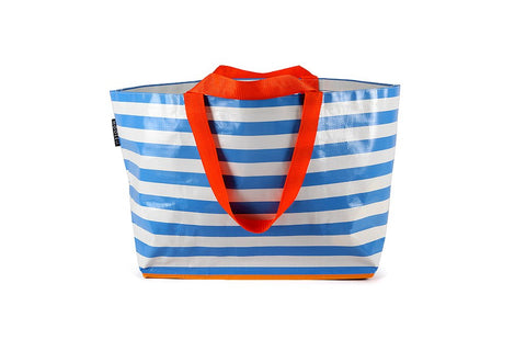 Mooleii Large Tote - Sky Blue Stripes - Neapolitan Homewares