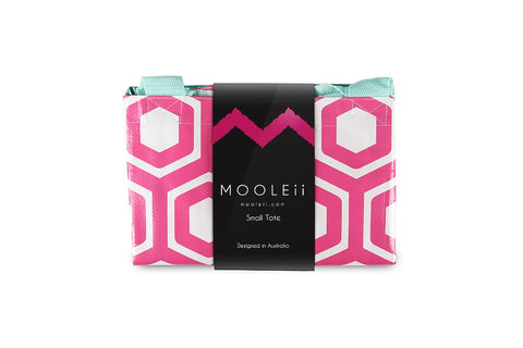 Mooleii Small Tote - Pink Honeycomb