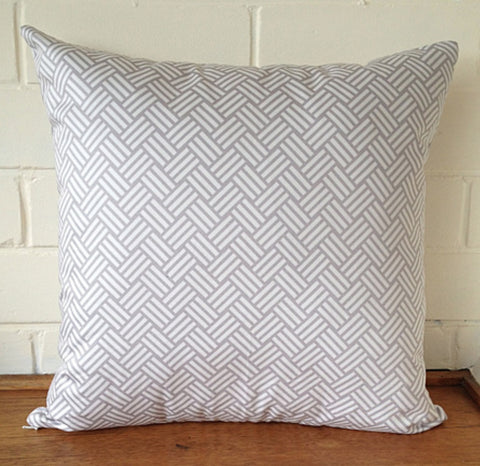 Black Eyed Susie cushion - grey billow - Neapolitan Homewares