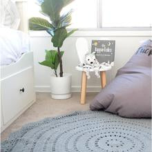 Hope and Jade Crochet rug 120cm - Peyton - Neapolitan Homewares