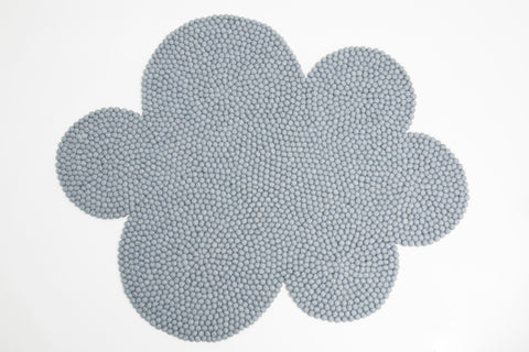 The Slumber Co Cloud Rug - Grey