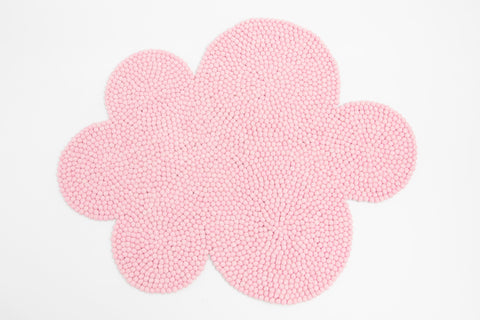 The Slumber Co Cloud Rug - Blush